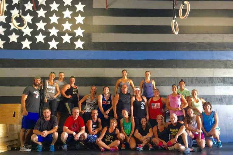CrossFit Droogs- First Bring A Friend WOD